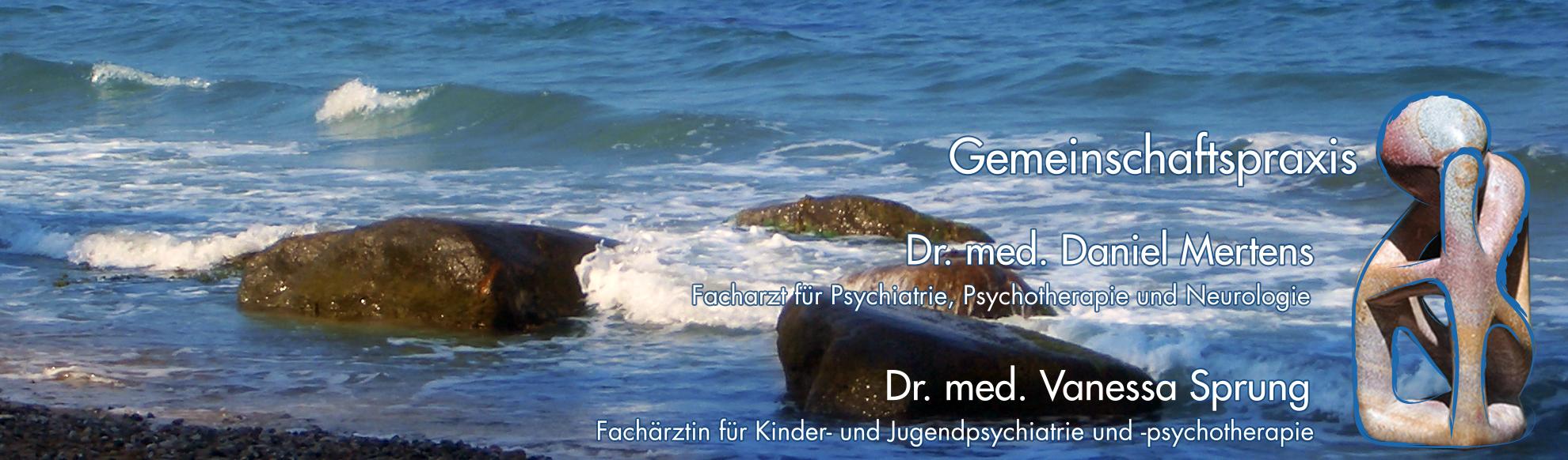 Gemeinschaftspraxis Dr. Daniel Mertens Facharzt für Psychiatrie Dr. Vanessa Sprung Fachärztin für Kinder- Jugendpsychiatrie